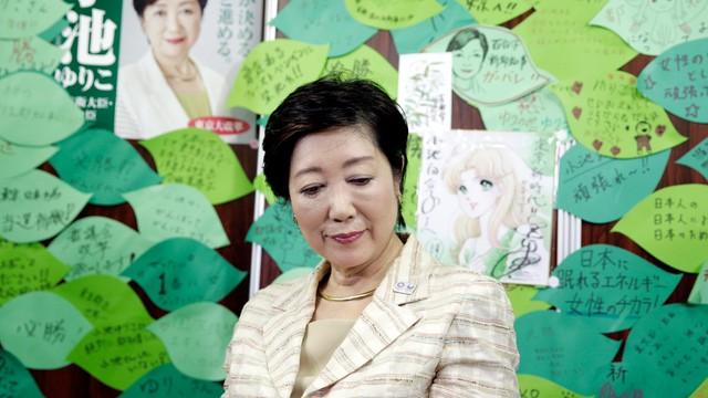 Japonia: Yuriko Koike wybrana na gubernatora Tokio, przygotuje igrzyska