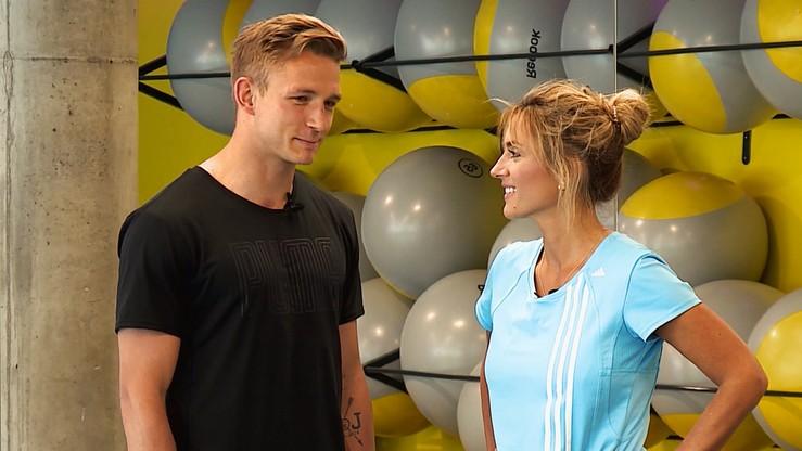 2017-06-27 Po zdrowie: Karolina i Marta ćwiczyły pilates z Rzeźniczakiem