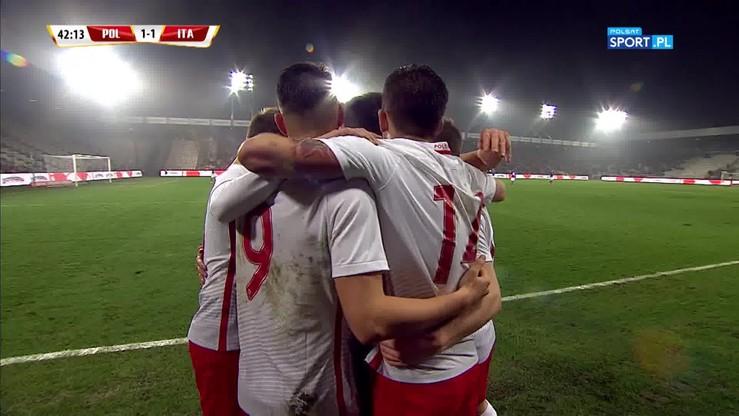 Polska U-21 - Włochy U-21 1:1. Gol Kownackiego