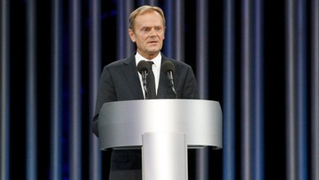 """04-10-2016 17:15 """"To może debata, Panie Prezesie?"""" - Tusk do Kaczyńskiego"""