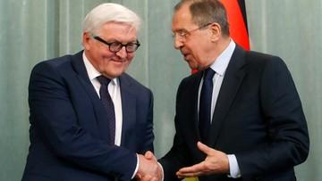 23-03-2016 21:51 Rosja: Ławrow i Steinmeier ponownie wezwali do realizacji porozumień mińskich
