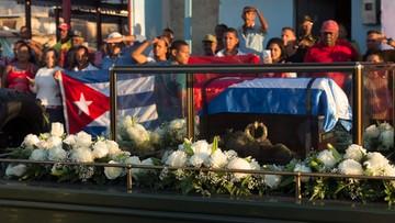 2016-12-04 Na Kubie uroczystości pogrzebowe Fidela Castro