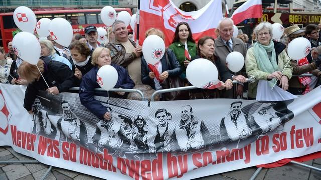 Niech żyje Polska! - prezydent spotkał się z weteranami w Londynie