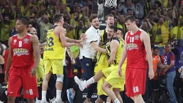 2017-10-11 Euroliga koszykarzy: Fenerbahce broni tytułu