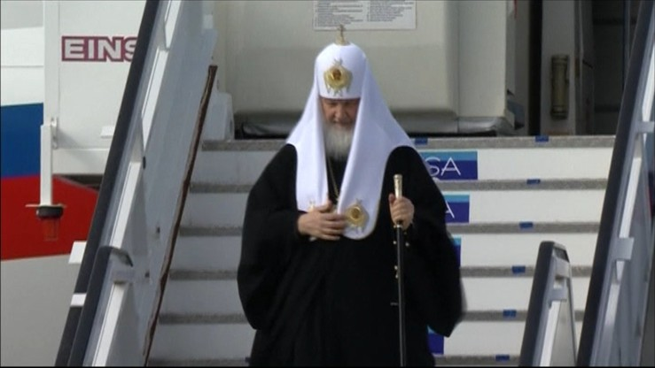 Patriarcha Cyryl dotarł na Kubę. Dziś historyczne spotkanie z papieżem Franciszkiem