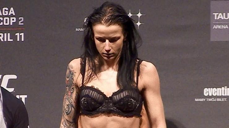 Izabela Badurek zwolniona z UFC