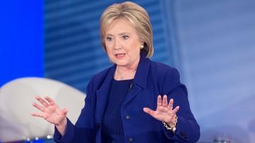Ostre starcie Clinton i Sandersa przed prawyborami w New Hampshire