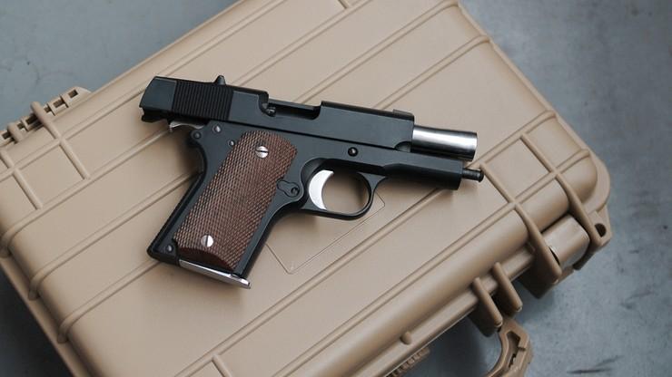 Miał nielegalny pistolet, a głosił zakaz dostępu do broni. Unijny ekspert aresztowany