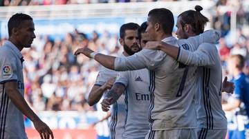 2016-10-29 Real Madryt lepszy od Alaves. Hattrick Ronaldo
