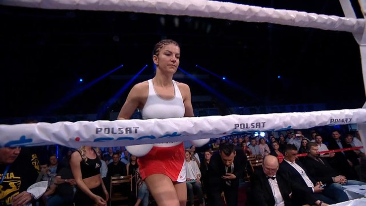 2016-05-07 Ewa Piątkowska - Karina Kopińska. Skrót walki