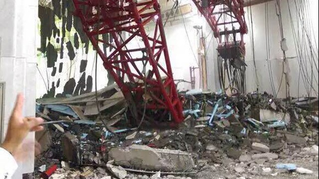 Dźwig runął na Wielki Meczet w Mekce - dziesiątki zabitych