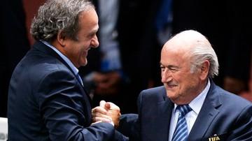 2015-11-21 Afera FIFA: Komisja Etyczna domaga się kar dla Blattera i Platiniego