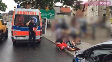 Troje nieprzytomnych nastolatków w centrum Bielawy. Najprawdopodobniej zażyli dopalacze