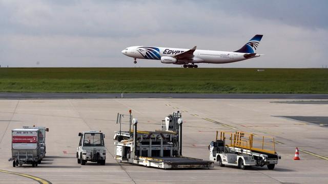Ni było problemów technicznych przed startem samolotu linii EgyptAir