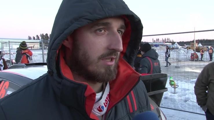 Kubica: Rajdowe tempo po śniegu to wielkie wyzwanie
