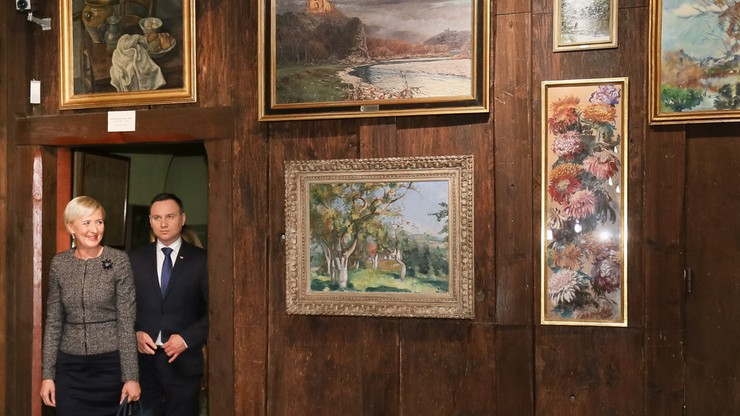 Szwajcaria: prezydencka para z wizytą w polskim muzeum