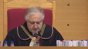07-03-2016 11:06 Rzepliński: postanowiłem nie odraczać rozprawy ws. nowelizacji ustawy o TK