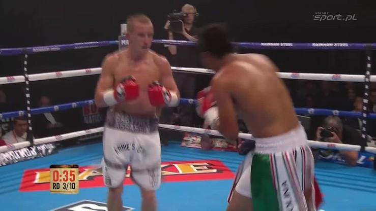 2015-07-11 Gustavo Molina - Paul Butler. Skrót walki