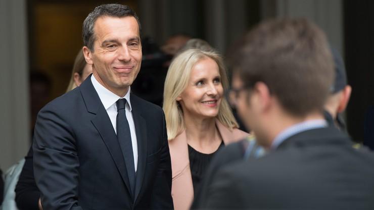 Austria ma nowego kanclerza. Został nim Christian Kern