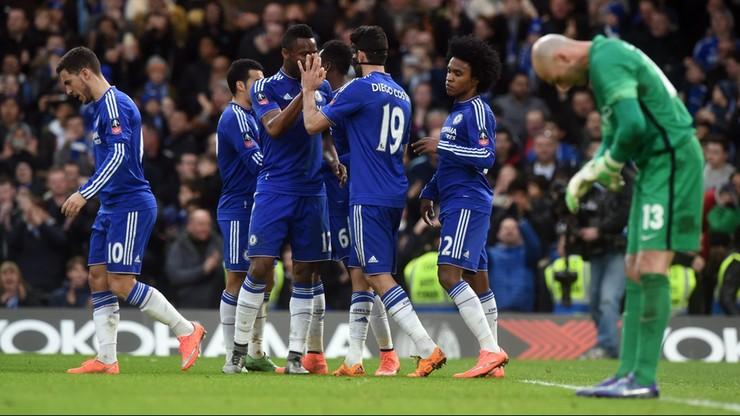 Puchar Anglii: Faworyci mieli szczęście. Everton - Chelsea największym hitem