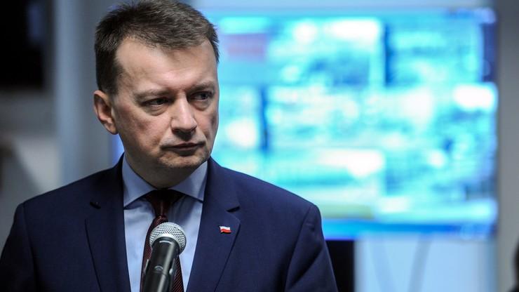 Błaszczak: Polska przywróci w lipcu kontrole na granicach