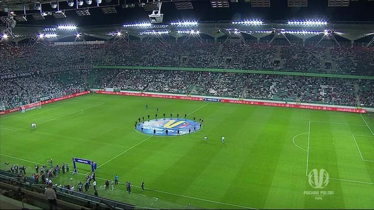 Puchar Polski: Legia - Lechia 4:1. Skrót meczu