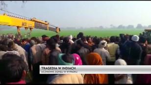 Tragedia w Indiach - uczniowie zginęli w wypadku