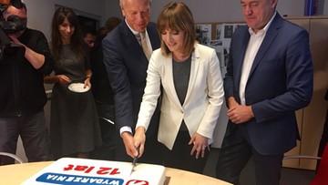 2016-10-11 12. urodziny Wydarzeń Polsatu. Był tam nasz użytkownik, który spróbował tortu!