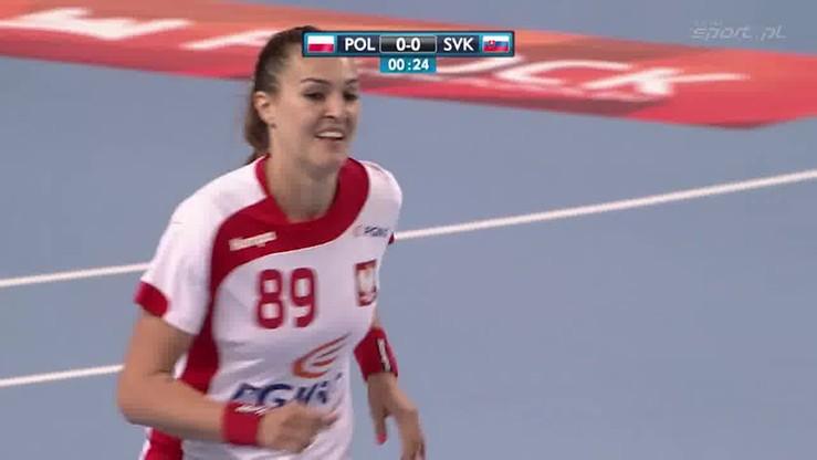 Efektowna wrzutka Polek na otwarcie meczu ze Słowacją!