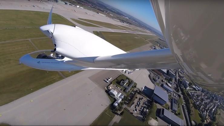 HY4 - czteroosobowy samolot na wodór oblatany
