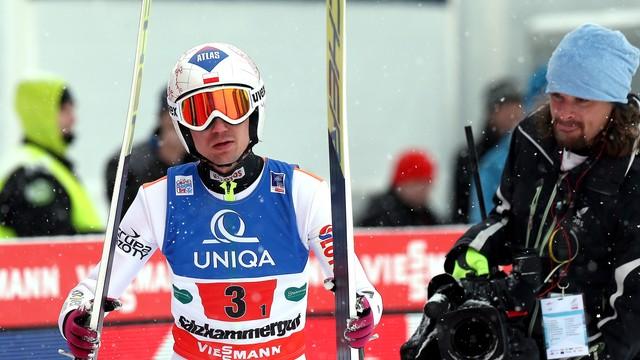 MŚ w lotach narciarskich - polska drużyna piąta, wygrana Norwegów