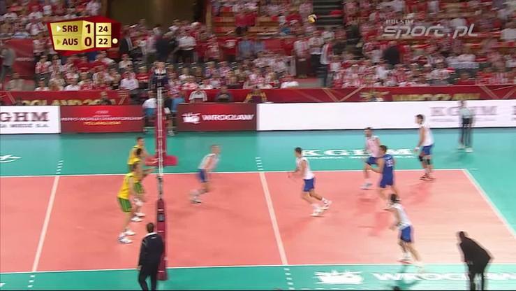Serbia - Australia 3:1. Skrót meczu