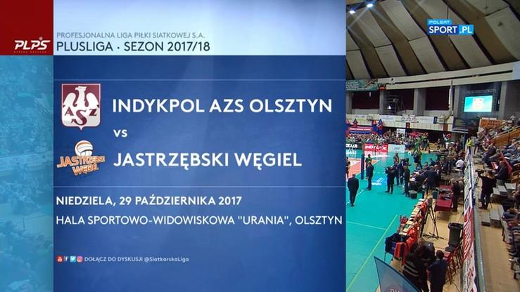 Indykpol AZS Olsztyn – Jastrzębski Węgiel 3:0. Skrót meczu