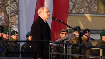 Szef MON: armia zawodowa nie wystarczy, by zapewnić bezpieczeństwo Polsce