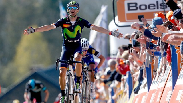 Fleche Wallonne po raz czwarty dla Alejandro Valverde