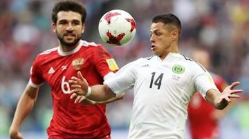 2017-06-24 Puchar Konfederacji FIFA: Meksyk minimalnie lepszy od Rosji