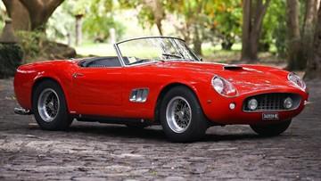 17-02-2016 18:37 Ferrari 250 GT SWB California do kupienia za 15 mln dolarów