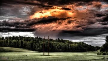 2016-05-01 Ostrzeżenie: burze nad południową Polską