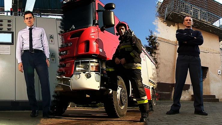 CF: Strażak, dyrektor, nauczyciel. Błękitni pracowici
