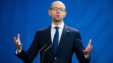 10-04-2016 16:51 Ukraina: premier Jaceniuk podał się do dymisji