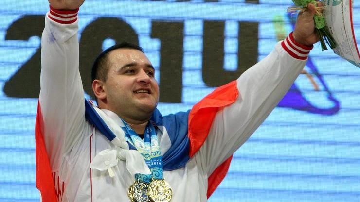 Dwukrotny mistrz świata w ciężarach zawieszony za doping