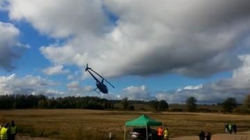 2017-10-08 Rajdowe ME: Na Łotwie wypadek śmigłowca z Polakami na pokładzie