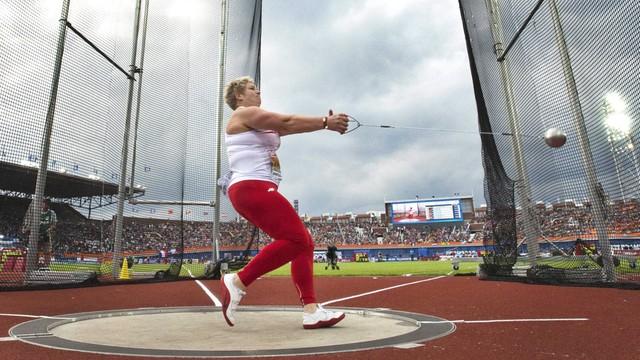 Anita Włodarczyk mistrzynią Europy w rzucie młotem
