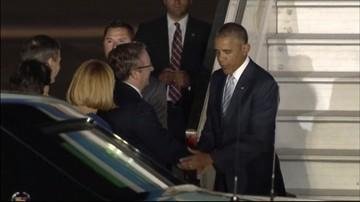 08-07-2016 05:05 Prezydent USA w Warszawie. Zatrzymał się w hotelu Marriott
