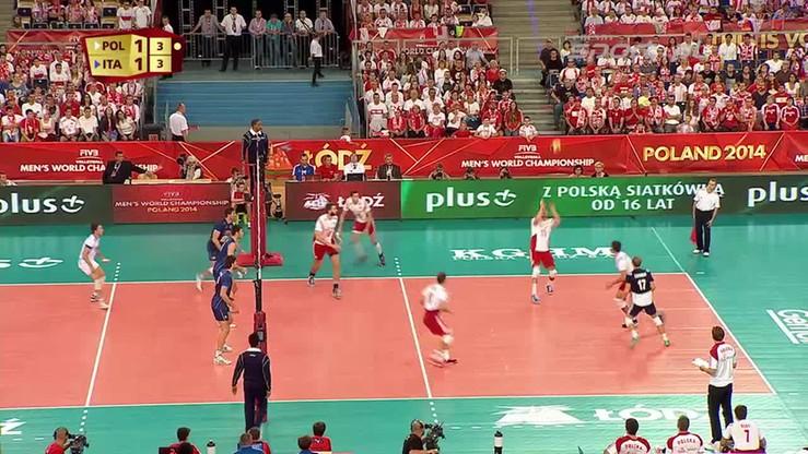 Polska - Włochy 3:1. Skrót meczu