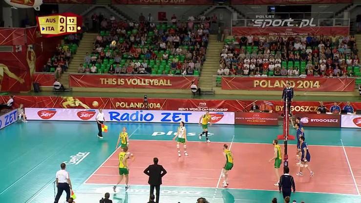 Australia - Włochy 1:3. Skrót meczu
