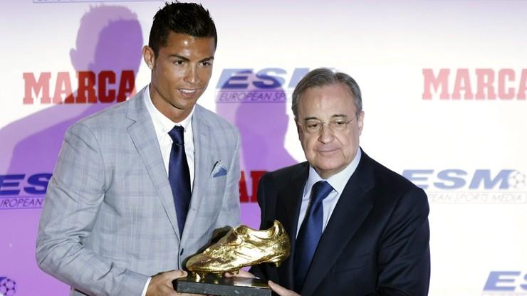 Ronaldo odebrał Złotego Buta