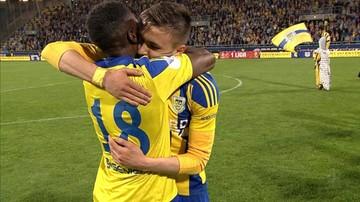 11-05-2016 05:22 Zwycięski remis Arki na miarę awansu do ekstraklasy