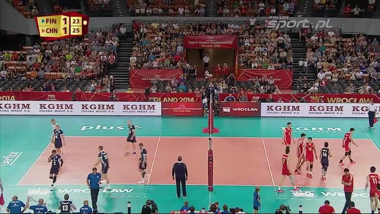 Finlandia - Chiny 2:3. Skrót meczu