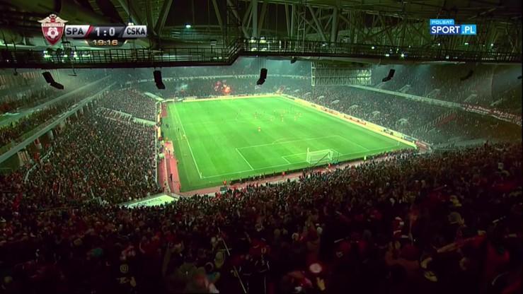Spartak Moskwa - CSKA Moskwa 3:1. Skrót meczu